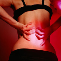 Back pain relief with massage
